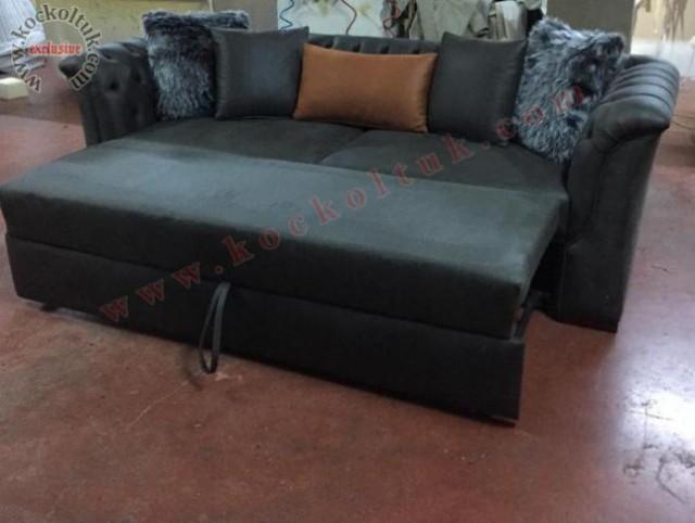 akımları nubuk kumaş yataklı chester koltuk takımı kişiye özel koltuk takım