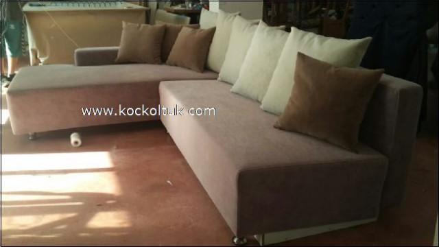 Yataklı Sandıklı Modern Köşe Koltuk