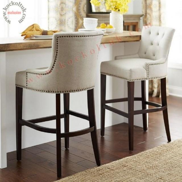 Yüksek Ayak Bar Sandalyeleri Luxury Bar High Chairs